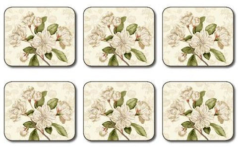 "Coasters ""Custis Garden Camellia"" by Jason Designs"