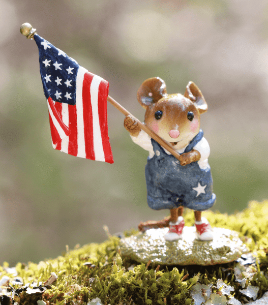 "Wee Forest Folk FB-5a ""Homegrown Stars and Stripes"""