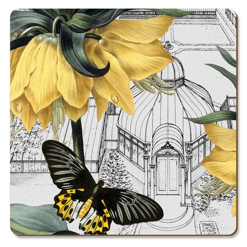 "Coasters ""New York Botanical Garden Conservatory"" by Cala"