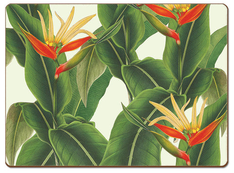 "Place Mates ""Heliconia"" of New York Botanical Garden Designs"