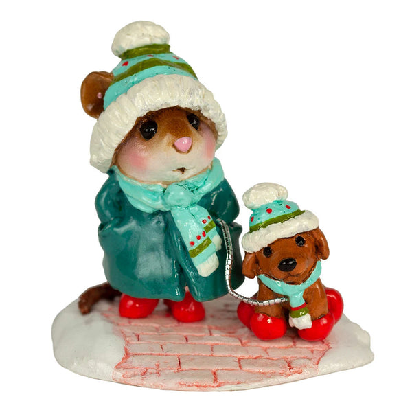 "Wee Forest Folk M-180a ""CHILLY DOG"""