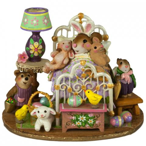"Wee Forest Folk M-412d ""Happiest Easter"""