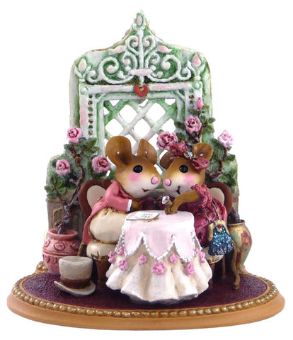 "Wee Forest Folk M-435 ""Miss Mousey, Will You Marry Me?"""