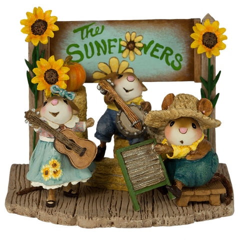 "Wee Forest Folk M-438a ""The Swinging Sunflowers""Fall Festival"