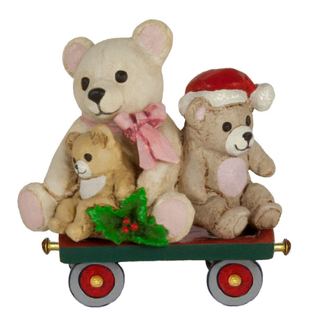"Wee Forest Folk M-453l ""Teddy Trolley"""