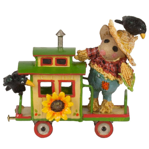 "Wee Forest Folk M-453o ""Crow Caboose"""