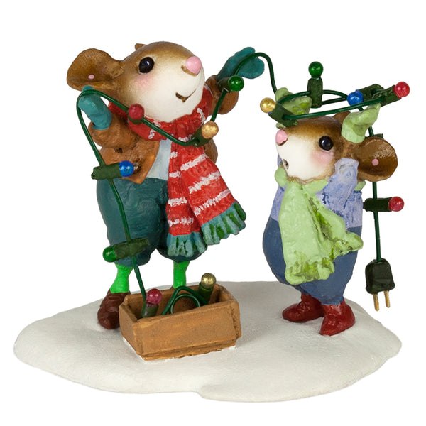 "Wee Forest Folk M-493a ""Merry & Bright!"""