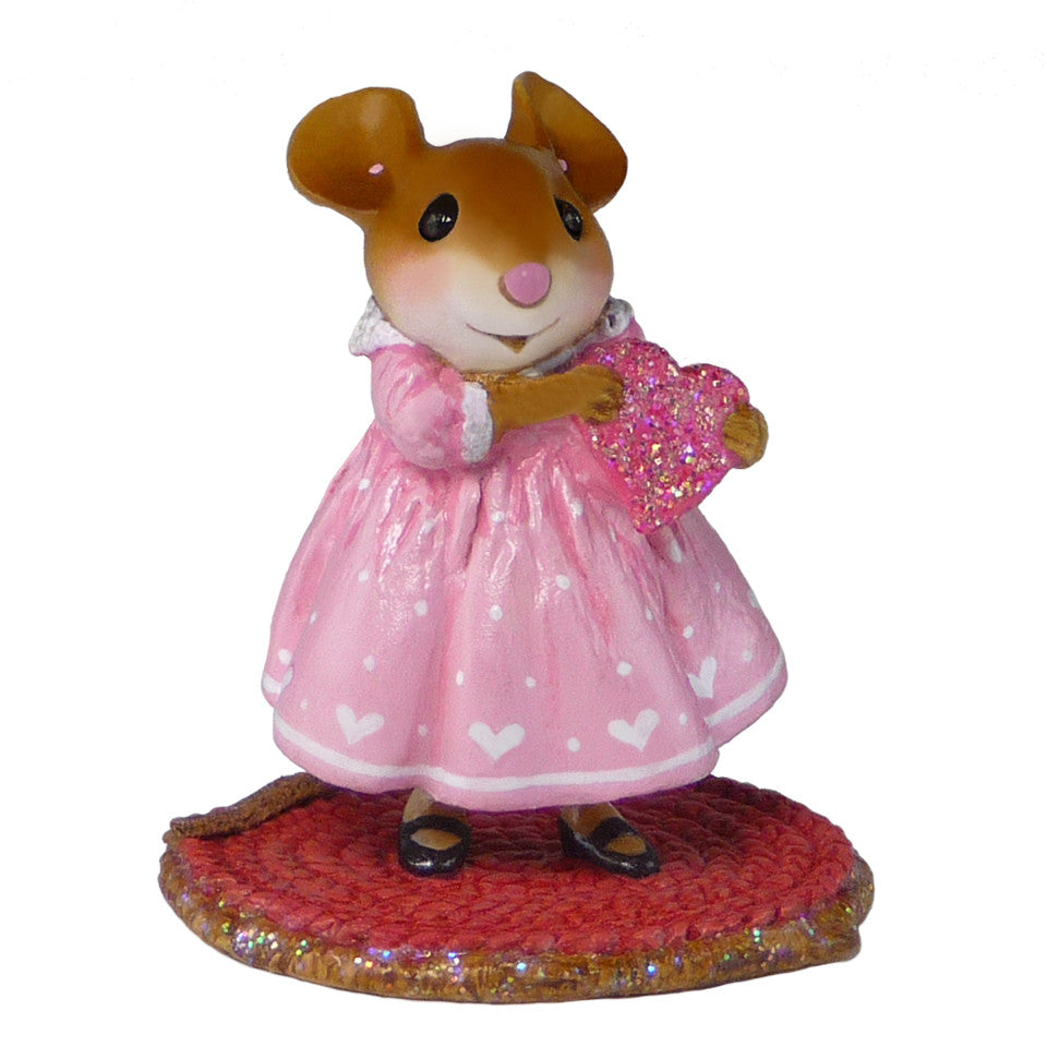 "Wee Forest Folk M-499a - ""Little Sweetheart Girl"""