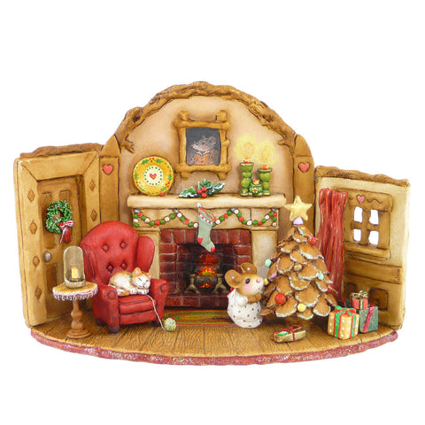 "Wee Forest Folk, M-510 ""Home at Christmas"""