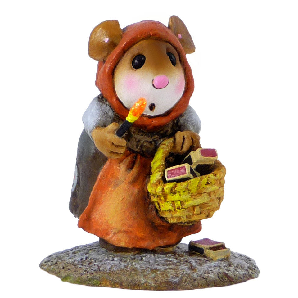 "Wee Forest Folk M-521 ""Little Match Girl"""