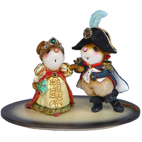 "Wee Forest Folk M-529 ""Napoleon and Josephine"""