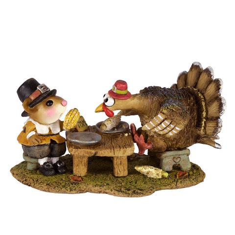 "Wee Forest Folk M-592 ""Turkey for Dinner!"""