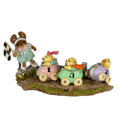 "Wee Forest Folk M-609 ""Racey Chicks"""