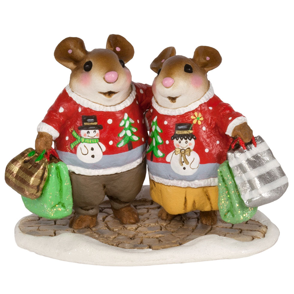 "Wee Forest Folk M-625 ""Close Knit Couple"""