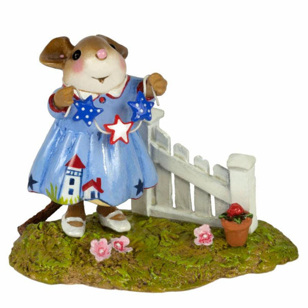 "Wee Forest Folk M-631a ""Star Spangled"""