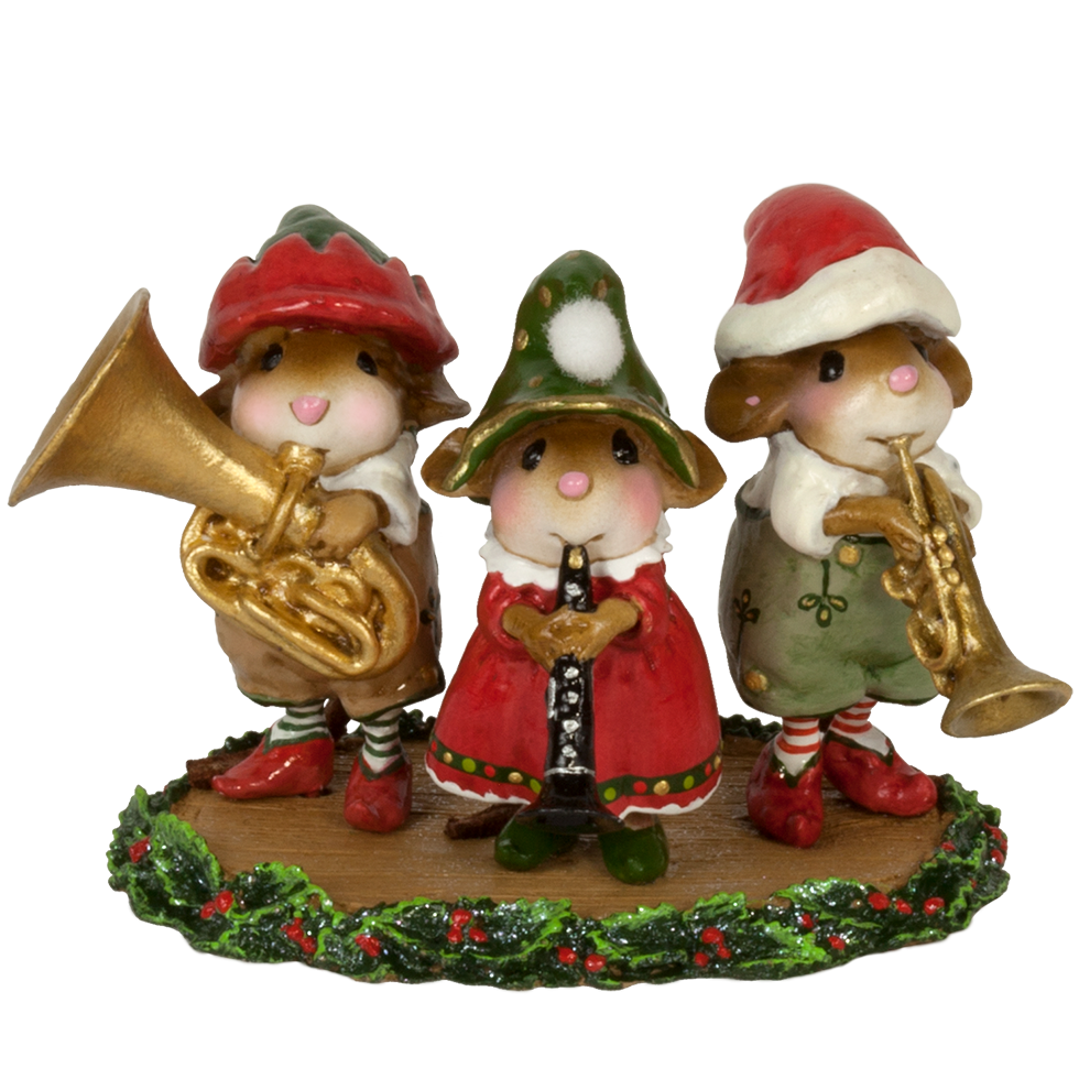 "Wee Forest Folk M-653 ""Oompah Band Elves"""