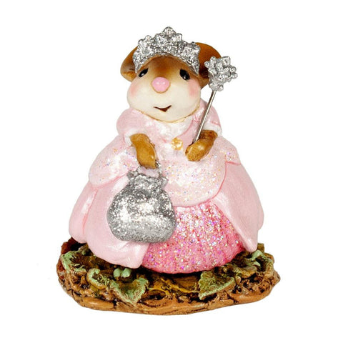 "Wee Forest Folk M-694 ""Glitter Princess"" Pink"