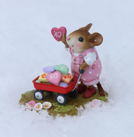 "Wee Forest Folk M-706a ""Loads of Love"" Girl"