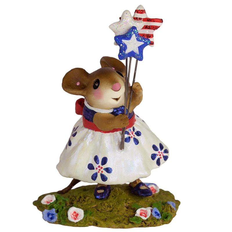 "Wee Forest Folk M-468b ""Stars & Stripes Forever"""
