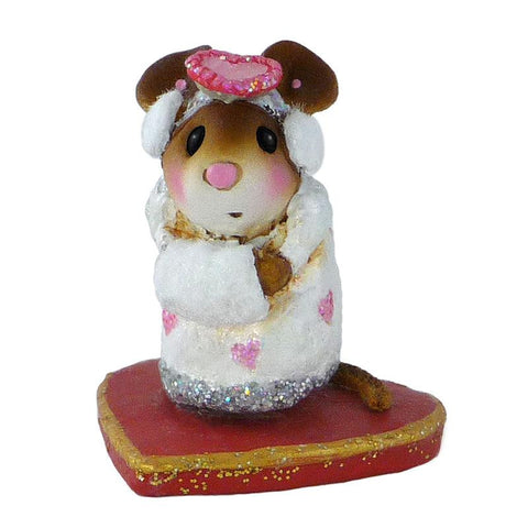 "Wee Forest Folk M-476 White ""Little Missy Valentine"""