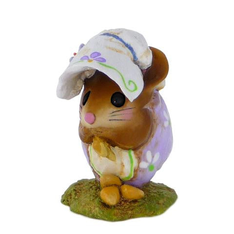"Wee Forest Folk NM-1b ""Spring Nibble Mouse"""