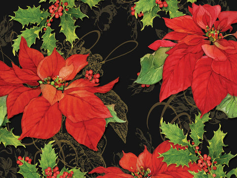 "Place Mats ""Poinsettias"" by Cala Home"