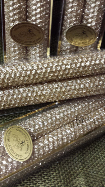 "Candles 12"" Taper ""Gold"" Metallic Glitter by Oak Forest Design"