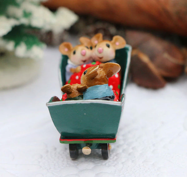 "Wee Forest Folk M-453q ""COZY CARRIAGE"""