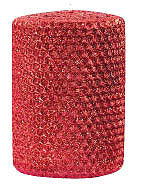 "Candles 3""x 6"" Ruby Metallic Pillar  Oak Forest Designs"
