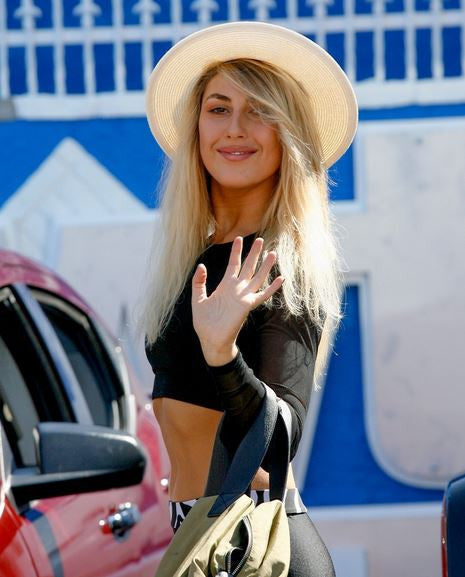 Dancing With The Stars Pro, Emma Slater, Rocks The SUMMERSKIN Fedora