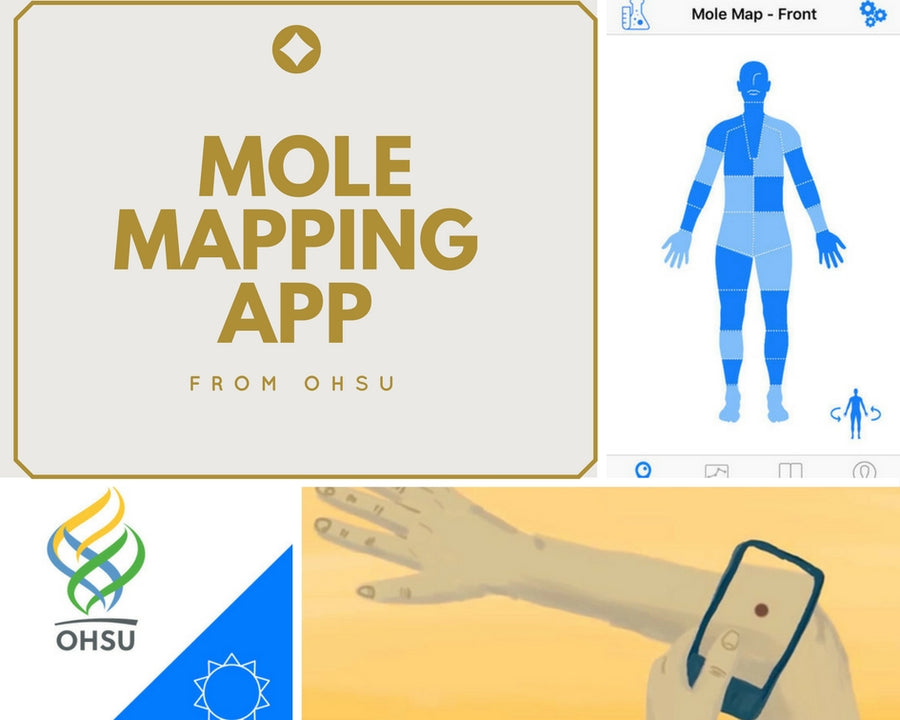 OHSU offers FREE Mole Mapping App