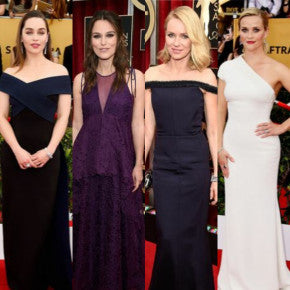 Our Favorite Pale Beauties & Award Season