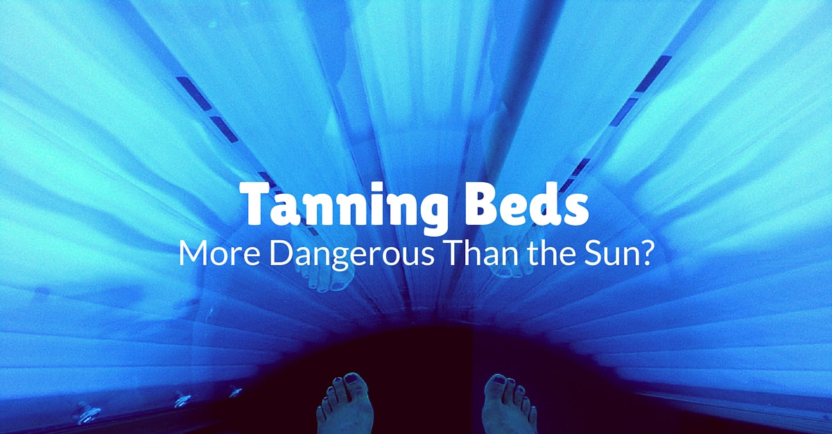 when were tanning beds invented