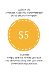 $5 to Help Build Shade Structures