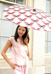 Butterfly Print Parasol