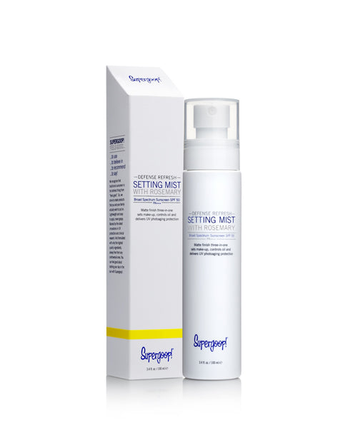 Defense Refresh Setting Mist SPF 50