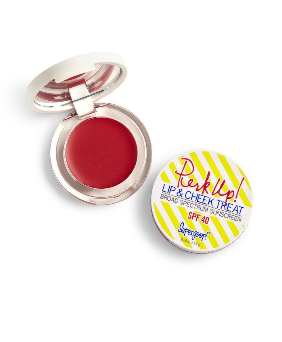 Perk Up! Lip and Cheek Treat SPF 40