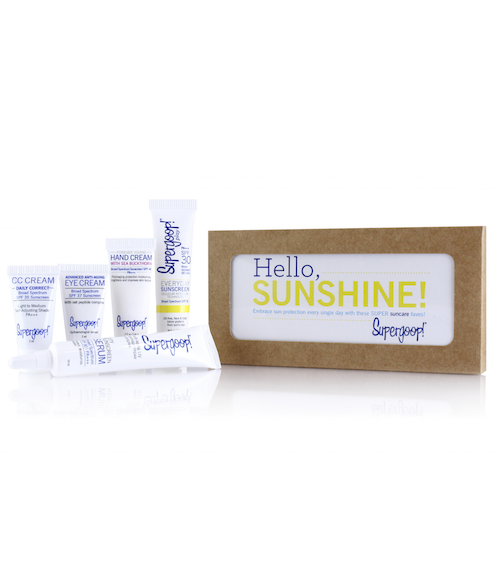 Hello, Sunshine! Suncare Starter Set