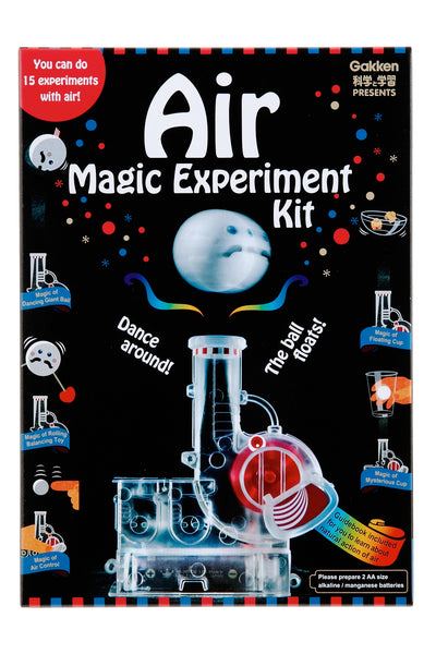 Gakken Presents: Air Magic Experiment Kit