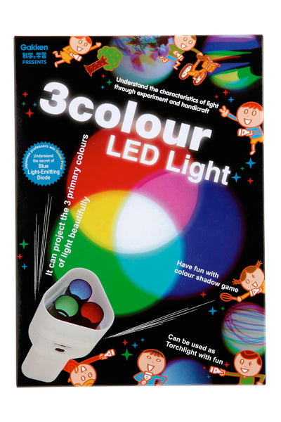Gakken Presents: 3 Colour LED Light Kit