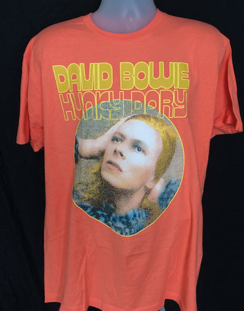 David Bowie - Hunky Dory - Orange t-shirt