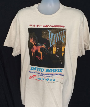 David Bowie - Japan Tour - Natural t-shirt