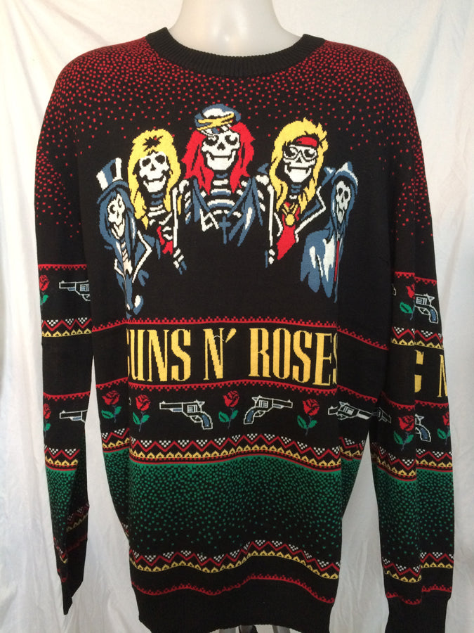 Guns N Roses - UGLY XMAS SWEATER