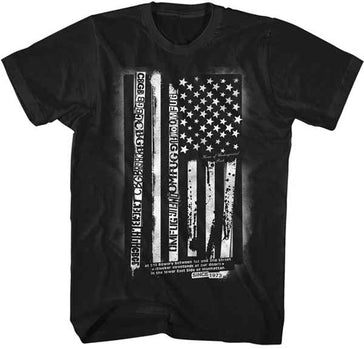 CBGB-Flag Black T-shirt