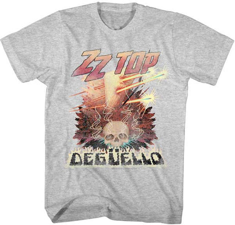 ZZ Top Deguello Gray Heather Lightweight t-shirt