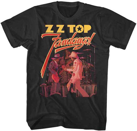 ZZ Top Fandango-Black Lightweight t-shirt