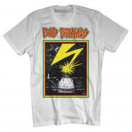 Bad Brains Capitol-White T-shirt