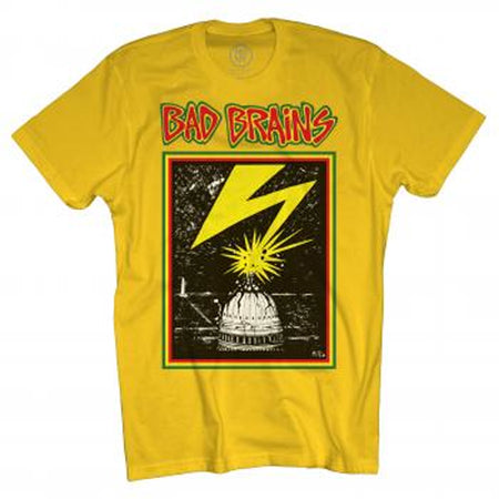 Bad Brains Capitol-Yellow T-shirt