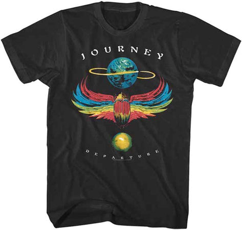 Journey-Departure-Black t-shirt