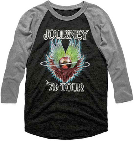 Journey-1979 Tour Raglan Baseball Jersey t-shirt